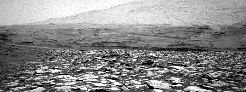 Nasa's Mars rover Curiosity acquired this image using its Right Navigation Camera on Sol 3014, at drive 1808, site number 85