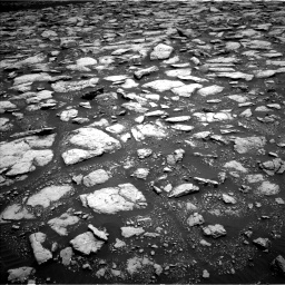 Nasa's Mars rover Curiosity acquired this image using its Left Navigation Camera on Sol 3015, at drive 1820, site number 85