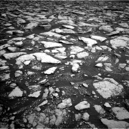 Nasa's Mars rover Curiosity acquired this image using its Left Navigation Camera on Sol 3015, at drive 1850, site number 85