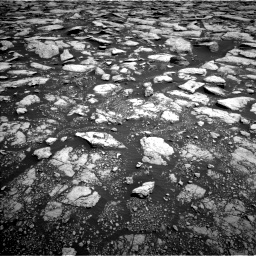 Nasa's Mars rover Curiosity acquired this image using its Left Navigation Camera on Sol 3015, at drive 1868, site number 85