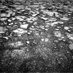Nasa's Mars rover Curiosity acquired this image using its Left Navigation Camera on Sol 3015, at drive 1886, site number 85