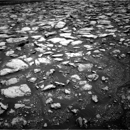 Nasa's Mars rover Curiosity acquired this image using its Right Navigation Camera on Sol 3015, at drive 1826, site number 85