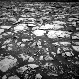 Nasa's Mars rover Curiosity acquired this image using its Right Navigation Camera on Sol 3015, at drive 1838, site number 85