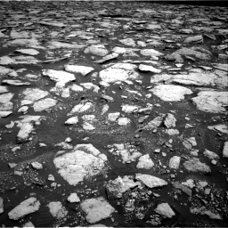 Nasa's Mars rover Curiosity acquired this image using its Right Navigation Camera on Sol 3015, at drive 1844, site number 85