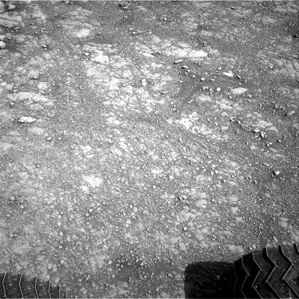 Nasa's Mars rover Curiosity acquired this image using its Right Navigation Camera on Sol 3015, at drive 2168, site number 85