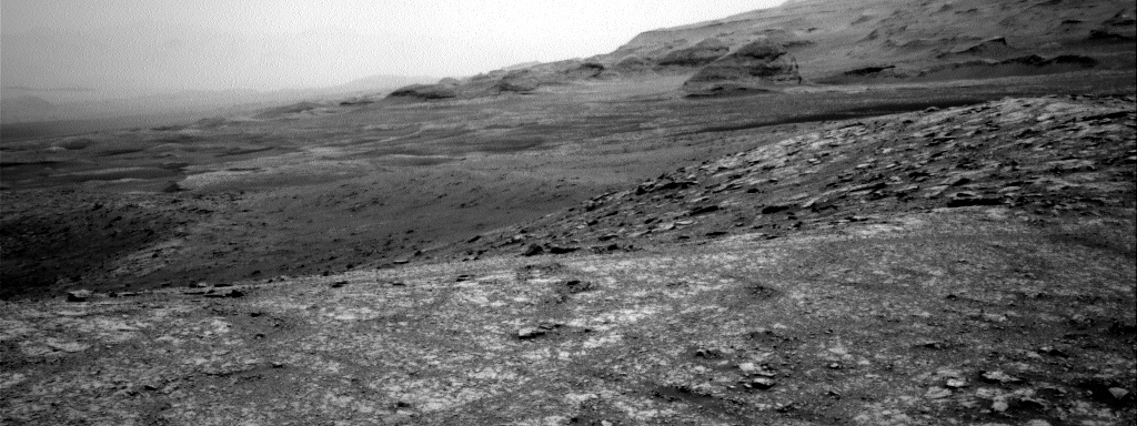 Nasa's Mars rover Curiosity acquired this image using its Right Navigation Camera on Sol 3016, at drive 2168, site number 85