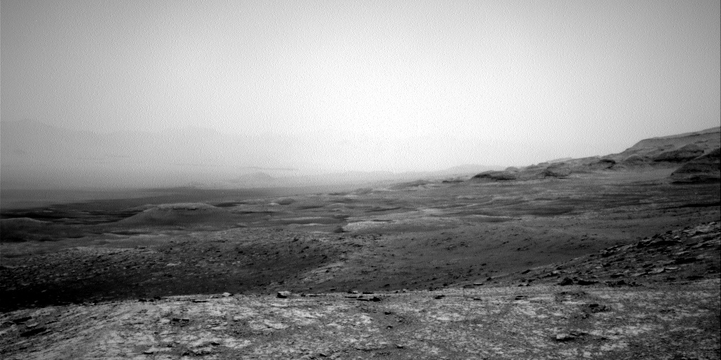 Nasa's Mars rover Curiosity acquired this image using its Right Navigation Camera on Sol 3017, at drive 2168, site number 85