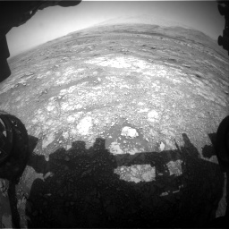 Nasa's Mars rover Curiosity acquired this image using its Front Hazard Avoidance Camera (Front Hazcam) on Sol 3018, at drive 2462, site number 85