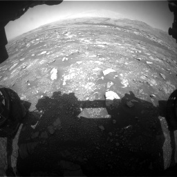 Nasa's Mars rover Curiosity acquired this image using its Front Hazard Avoidance Camera (Front Hazcam) on Sol 3018, at drive 2546, site number 85