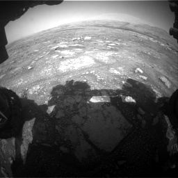 Nasa's Mars rover Curiosity acquired this image using its Front Hazard Avoidance Camera (Front Hazcam) on Sol 3018, at drive 2612, site number 85