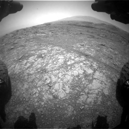 Nasa's Mars rover Curiosity acquired this image using its Front Hazard Avoidance Camera (Front Hazcam) on Sol 3018, at drive 2258, site number 85