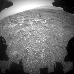 Nasa's Mars rover Curiosity acquired this image using its Front Hazard Avoidance Camera (Front Hazcam) on Sol 3018, at drive 2270, site number 85