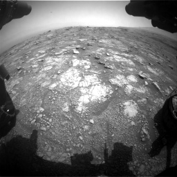 Nasa's Mars rover Curiosity acquired this image using its Front Hazard Avoidance Camera (Front Hazcam) on Sol 3018, at drive 2276, site number 85
