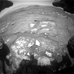 Nasa's Mars rover Curiosity acquired this image using its Front Hazard Avoidance Camera (Front Hazcam) on Sol 3018, at drive 2282, site number 85