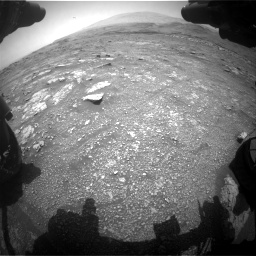 Nasa's Mars rover Curiosity acquired this image using its Front Hazard Avoidance Camera (Front Hazcam) on Sol 3018, at drive 2288, site number 85