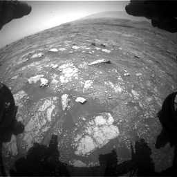 Nasa's Mars rover Curiosity acquired this image using its Front Hazard Avoidance Camera (Front Hazcam) on Sol 3018, at drive 2294, site number 85