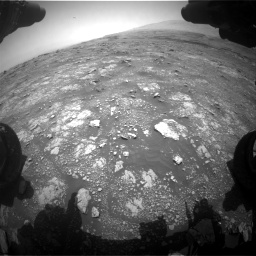 Nasa's Mars rover Curiosity acquired this image using its Front Hazard Avoidance Camera (Front Hazcam) on Sol 3018, at drive 2306, site number 85