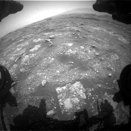 Nasa's Mars rover Curiosity acquired this image using its Front Hazard Avoidance Camera (Front Hazcam) on Sol 3018, at drive 2312, site number 85