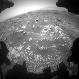 Nasa's Mars rover Curiosity acquired this image using its Front Hazard Avoidance Camera (Front Hazcam) on Sol 3018, at drive 2324, site number 85