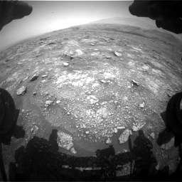 Nasa's Mars rover Curiosity acquired this image using its Front Hazard Avoidance Camera (Front Hazcam) on Sol 3018, at drive 2354, site number 85