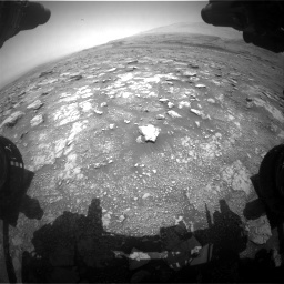 Nasa's Mars rover Curiosity acquired this image using its Front Hazard Avoidance Camera (Front Hazcam) on Sol 3018, at drive 2366, site number 85