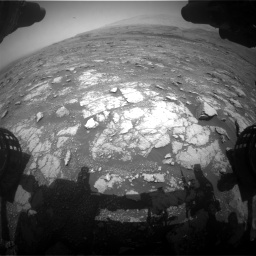 Nasa's Mars rover Curiosity acquired this image using its Front Hazard Avoidance Camera (Front Hazcam) on Sol 3018, at drive 2390, site number 85
