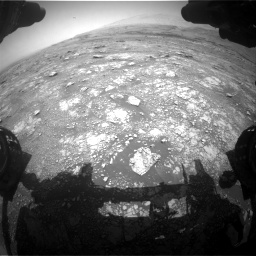 Nasa's Mars rover Curiosity acquired this image using its Front Hazard Avoidance Camera (Front Hazcam) on Sol 3018, at drive 2408, site number 85