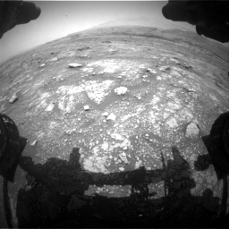 Nasa's Mars rover Curiosity acquired this image using its Front Hazard Avoidance Camera (Front Hazcam) on Sol 3018, at drive 2414, site number 85