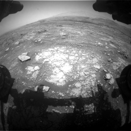 Nasa's Mars rover Curiosity acquired this image using its Front Hazard Avoidance Camera (Front Hazcam) on Sol 3018, at drive 2420, site number 85