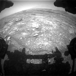 Nasa's Mars rover Curiosity acquired this image using its Front Hazard Avoidance Camera (Front Hazcam) on Sol 3018, at drive 2426, site number 85