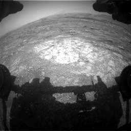 Nasa's Mars rover Curiosity acquired this image using its Front Hazard Avoidance Camera (Front Hazcam) on Sol 3018, at drive 2468, site number 85