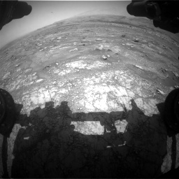 Nasa's Mars rover Curiosity acquired this image using its Front Hazard Avoidance Camera (Front Hazcam) on Sol 3018, at drive 2474, site number 85