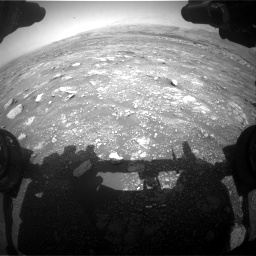 Nasa's Mars rover Curiosity acquired this image using its Front Hazard Avoidance Camera (Front Hazcam) on Sol 3018, at drive 2492, site number 85