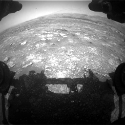 Nasa's Mars rover Curiosity acquired this image using its Front Hazard Avoidance Camera (Front Hazcam) on Sol 3018, at drive 2498, site number 85