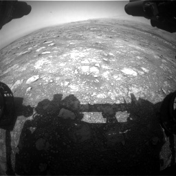 Nasa's Mars rover Curiosity acquired this image using its Front Hazard Avoidance Camera (Front Hazcam) on Sol 3018, at drive 2522, site number 85