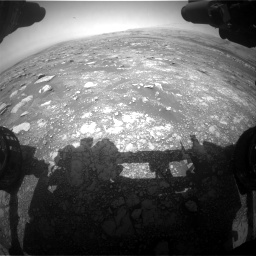 Nasa's Mars rover Curiosity acquired this image using its Front Hazard Avoidance Camera (Front Hazcam) on Sol 3018, at drive 2528, site number 85
