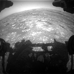 Nasa's Mars rover Curiosity acquired this image using its Front Hazard Avoidance Camera (Front Hazcam) on Sol 3018, at drive 2534, site number 85