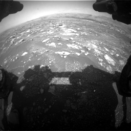 Nasa's Mars rover Curiosity acquired this image using its Front Hazard Avoidance Camera (Front Hazcam) on Sol 3018, at drive 2558, site number 85