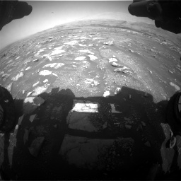 Nasa's Mars rover Curiosity acquired this image using its Front Hazard Avoidance Camera (Front Hazcam) on Sol 3018, at drive 2582, site number 85