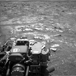 Nasa's Mars rover Curiosity acquired this image using its Left Navigation Camera on Sol 3018, at drive 2282, site number 85