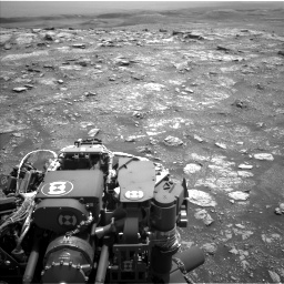 Nasa's Mars rover Curiosity acquired this image using its Left Navigation Camera on Sol 3018, at drive 2318, site number 85