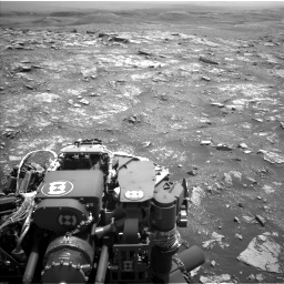 Nasa's Mars rover Curiosity acquired this image using its Left Navigation Camera on Sol 3018, at drive 2324, site number 85