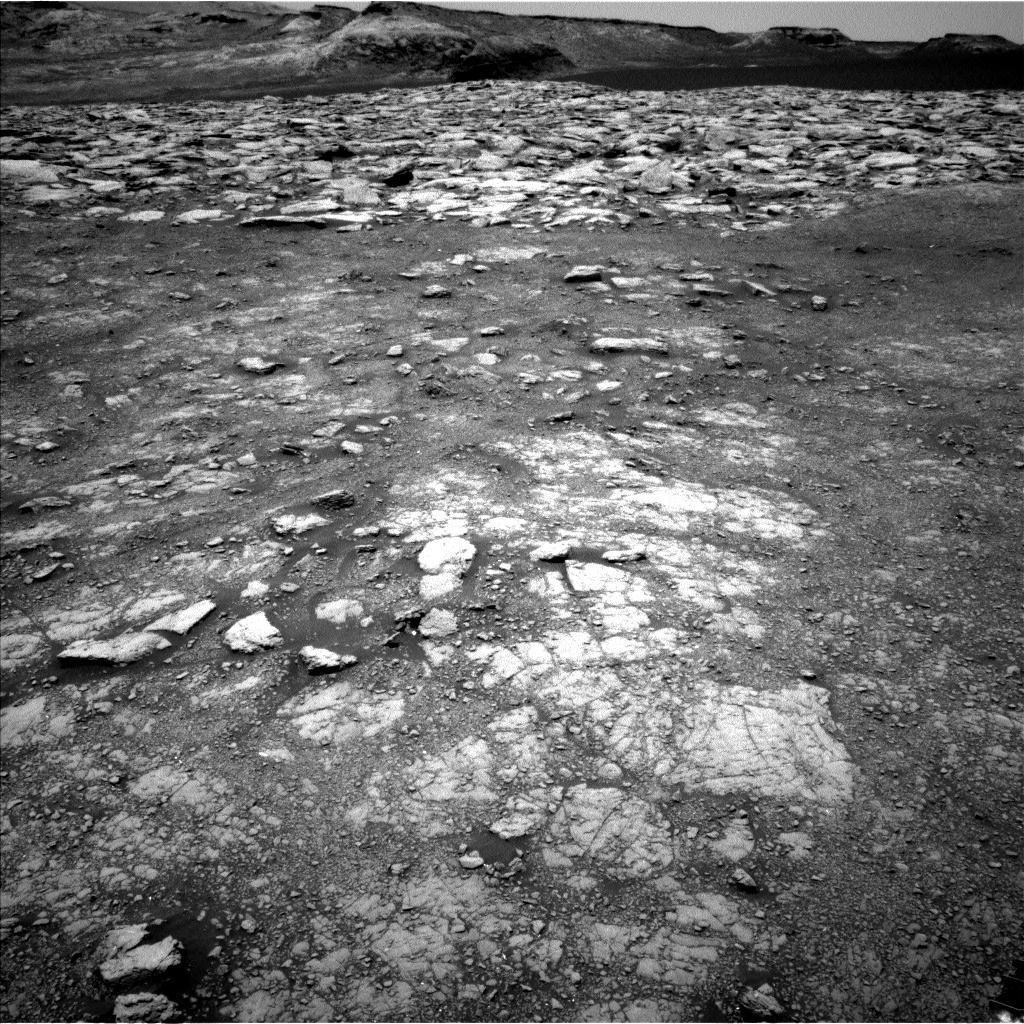 Nasa's Mars rover Curiosity acquired this image using its Left Navigation Camera on Sol 3018, at drive 2348, site number 85