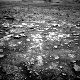 Nasa's Mars rover Curiosity acquired this image using its Left Navigation Camera on Sol 3018, at drive 2354, site number 85