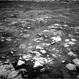 Nasa's Mars rover Curiosity acquired this image using its Left Navigation Camera on Sol 3018, at drive 2384, site number 85