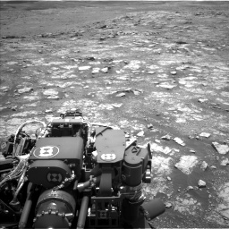 Nasa's Mars rover Curiosity acquired this image using its Left Navigation Camera on Sol 3018, at drive 2390, site number 85