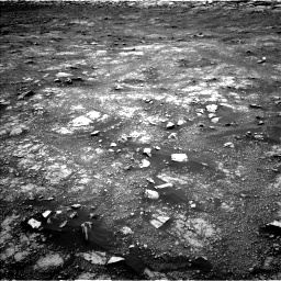 Nasa's Mars rover Curiosity acquired this image using its Left Navigation Camera on Sol 3018, at drive 2396, site number 85