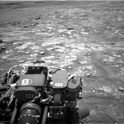 Nasa's Mars rover Curiosity acquired this image using its Left Navigation Camera on Sol 3018, at drive 2402, site number 85