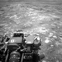 Nasa's Mars rover Curiosity acquired this image using its Left Navigation Camera on Sol 3018, at drive 2450, site number 85