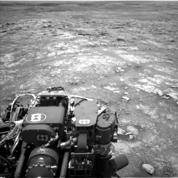 Nasa's Mars rover Curiosity acquired this image using its Left Navigation Camera on Sol 3018, at drive 2456, site number 85
